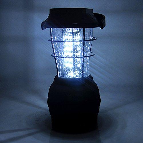 Lychee Campingleuchte,Sehr Hell Outdoor Camping-Lampe mit 36 LED,5 Lademodi,Laterne Für Hof,Zelt,Taschenlampe,Wandern,Notfaelle