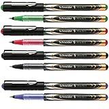 Schneider Tintenroller XTRA 823 Schreibfarbe farbsortiert (4x schwarz, 3x blau, 2x rot, 1x grun)
