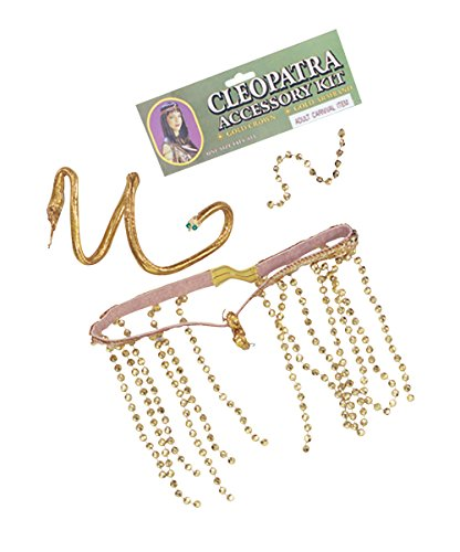 Cleopatra Set Accessory Fancy Dress (Egyptian Fancy Dress Ideen)