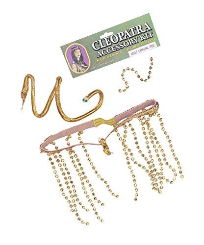 Cleopatra Set Accessory Fancy Dress (Queen Cleopatra Fancy Dress Kostüm)