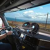 Sedeta DC12V voiture Dash Dual Climatiseur à tête double Refroidisseur Ventilateur Deux Vitesse Portable pour la maison de famille Auto