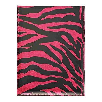 Rosa Glitzer Safari Design Umklappbar Spiegel