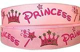 1m Disney Princess Pink Charakter Cartoon Band 2,5cm 25mm