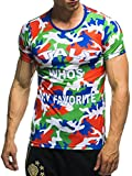 EM Fanshirt 2016 EM Fanshirts Fan T-Shirt Shirt Deutschland Frankreich Italien Portugal Spanien TŸrkei Camouflage T-Shirt; Größe M, Italien