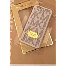 Michael Kors - Carcasa para iPhone 6, color blanco