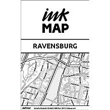 Inkmap Ravensburg - Karten für eReader, Sehenswürdigkeiten, Kultur, Ausgehen (German)