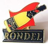 Rondel - Pin 24 x 24 mm