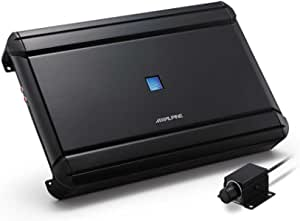 Alpine V Power Mono Verstärker Mit Fernbedienung Schwarz Audio Hifi