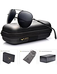 Mens Sunglasses Polarized UV 400 Protection Classic Style by LUENX