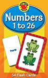 Numbers 1 to 26 (Brighter Child Flash Cards)