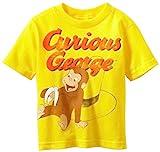 Curious George Playful Little Boys T-Shirt (4T)