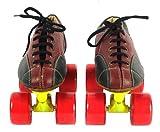 Dixon CWAEU Leather Skate Shoes, UK 11 (Maroon)