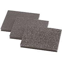 Wolfcraft 2895000-3 esponjas abrasivas, grano 60,120,180 98 x 123 x 10 mm