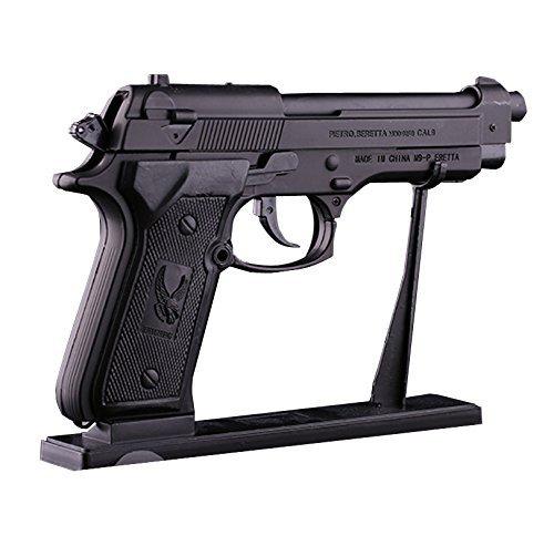 Beretta Pistolen Feuerzeug 1 zu 1 Model Schwarze Farbe OVP -