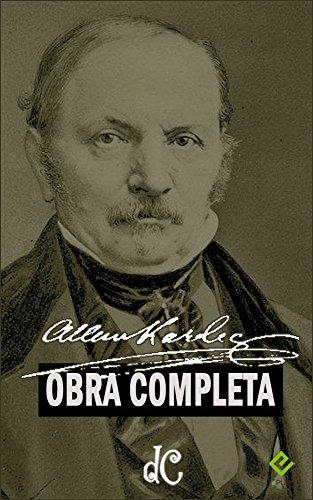 """Obra Completa de Allan Kardec: Inclui """"O Livro dos Espíritos"""" e mais 7 obras (Edição Definitiva) (Portuguese Edition)"""