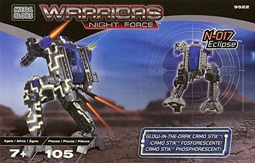 Mega Bloks 9522 Warriors Night Force - N-017 Eclipse