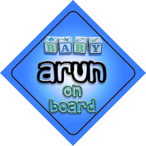 arun-on-board-baby-boy-auto-a-forma-di-cartello-regalo-per-bambini-e-neonati