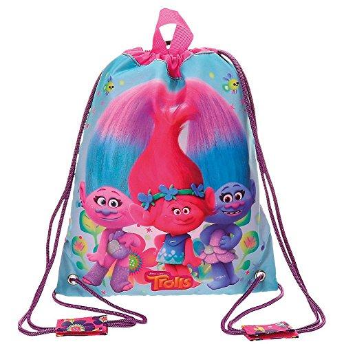 Imagen de trolls  infantil, 34 cm, 0.46 litros, multicolor