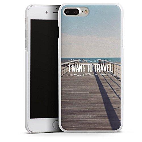 Apple iPhone X Silikon Hülle Case Schutzhülle Reisen Sommer Sprüche Hard Case weiß