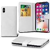 Lapinette Schutzhülle Wallet-Etui für Apple iPhone XS weiß