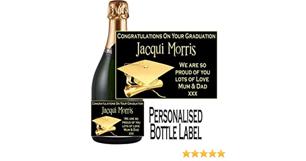 eternal design congratulations on your graduation winespirit style bottle label sticker npgdwl2 xmas ornaments