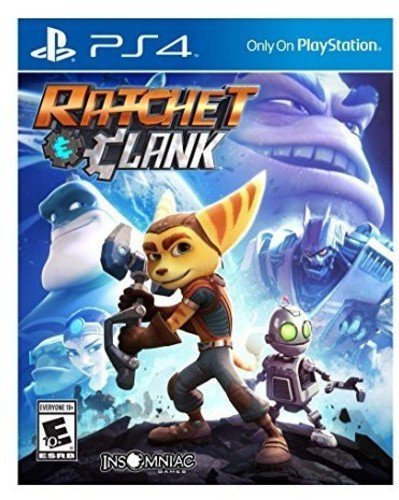 Sony ratchet and clank ps4 basic playstation 4 video game - video games (playstation 4, action / adventure, t (teen))