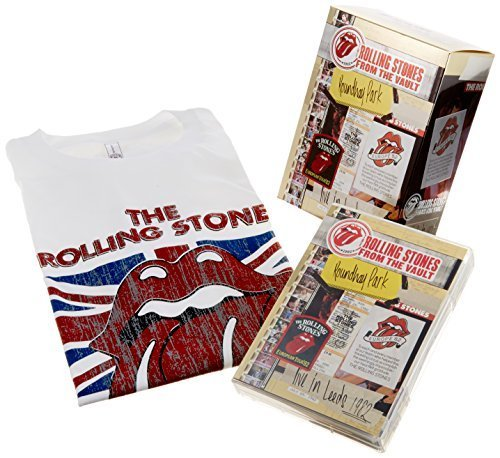 Stones: Live In Leeds 1982 [DVD+2CD+T-shirt/Limited Edition] by Rolling Stones