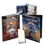 Andycards D&D E5D Pack WATERDEEP - Avventura Il Furto dei Dragoni + Dungeon del Mago Folle + Schermo del Master + Segnapunti