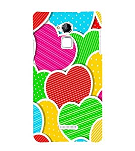 printtech Back Case Cover for Coolpad Note 3 / Coolpad Note 3 Dual SIM
