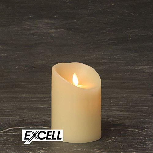 Katomi lumini LED senza fiamma t/è luce Candele flicker lunga durata 12pcs-Yellow funzionamento a batteria 12pcs