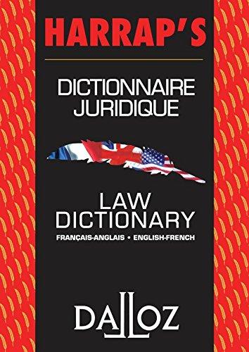 Dictionnaire jurid. français-anglais / french-English. Dahl's law dictionnary - 3e éd: Hors collection Dalloz par Henry Saint-Dahl