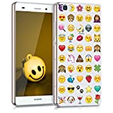 kwmobile Hülle für Huawei P8 Lite (2015) - TPU Silikon Backcover Case Handy Schutzhülle - Cover...