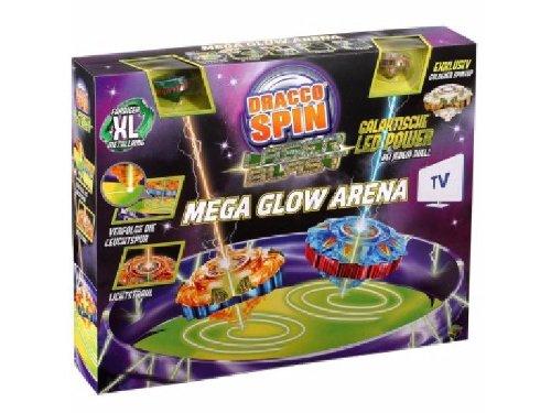 Preisvergleich Produktbild Dracco Spin Megablow Arena Laserblast mit zwei Laserblast kreisel