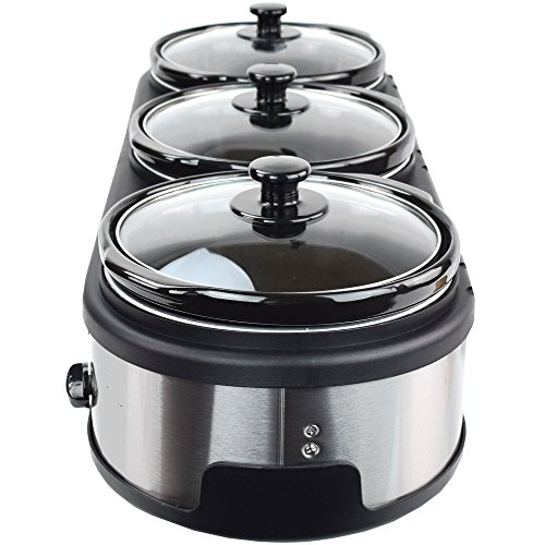 Syntrox Germany 3 x 2,5 l Slow-Chef SC-7.5L OV Schongarer - 7