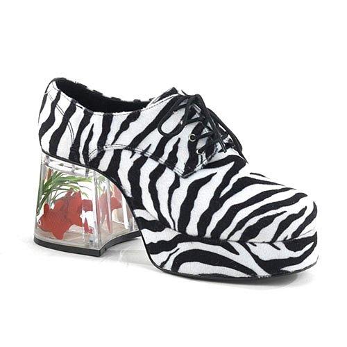 ren Plateauschuhe, Zebra, XL (Plateauschuhe Mit Fischen)
