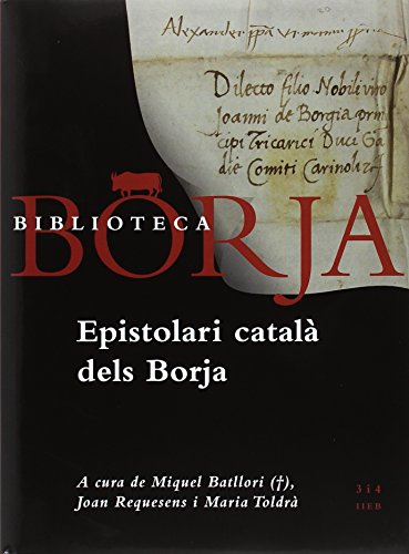 Epistolari català dels Borja