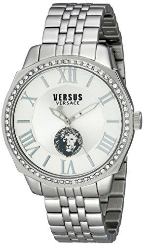 Versus by Versace hombre sov030015Chelsea analógica reloj de cuarzo, Plata