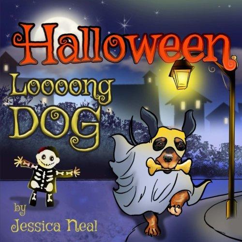 Halloween Loooong Dog: Halloween Adventure of a Funny Loooong Dog - Children's Book, Halloween Kids Books (Loooong Dog's Adventures, Band 2)