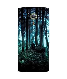 Deep Dark Forest Alcatel One Touch Flash 2 Case