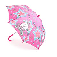 Mercopol Fluffy The Unicorn Umbrella, Multicolour, 68 x 68 x 58 cm