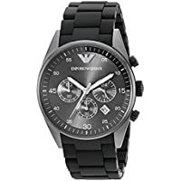 Emporio Armani AR5889 Chronograph Men's Watch (Black)