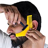 #10: Inovera Beard Shaping & Comb Styling Tool Beard Comb(Yellow)