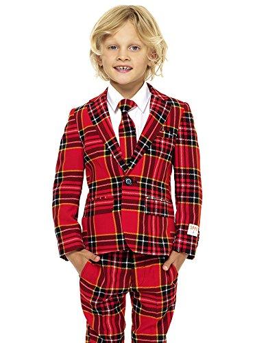 opposuits Abiti divertenti per Natale Completo: giacca, pantaloni e cravatta