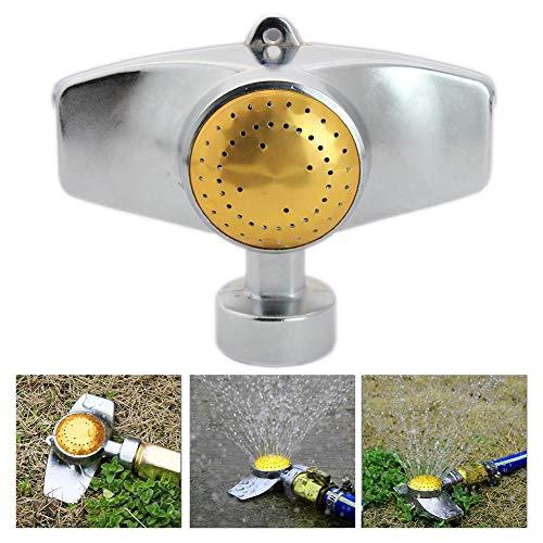 IBellete 1 Piezas de rociadores de césped automático de 360   Grados Giratorio Ajustable...