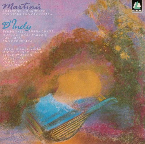 Martinu:Rhapsody Concerto,D'Indy:Symphony No.1