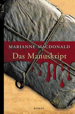 Buchseite und Rezensionen zu 'Das Manuskript' von Marianne Macdonald
