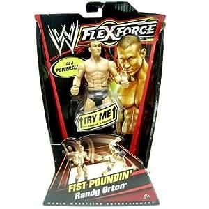 WWE - Coup De Poing / Fist Poundin' Randy Orton figurine - FLEXFORCE - WORLD WRESTLING ENTERTAINMENT - Mattel
