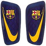 Nike FC Barcelona Mercurial Lite Parastinchi, blu scuro/giallo