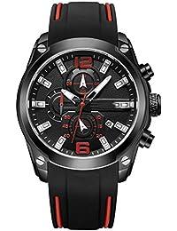 QSM Ver Reloj Deportivo De Cronometraje Multifuncional, Reloj Masculino De Cuarzo Masculino, Reloj De