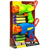 Buzz Bee Toys AIR Warriors Tek 3Blaster Zwei Pack